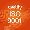 ISO 9001-certifiering.