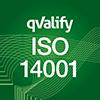 ISO 14001 certifiering.